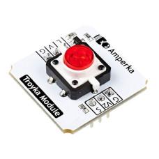 Кнопка со светодиодом / Troyka-модуль