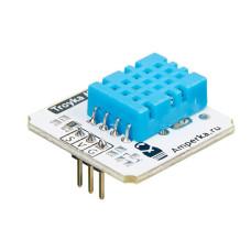 Датчик температуры и влажности DHT11 / Troyka-модуль